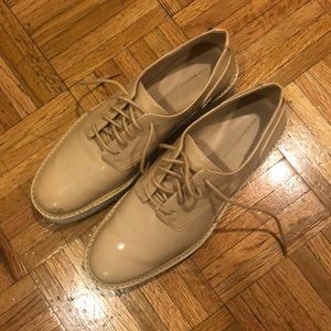 ZARA platform sneaker shoes
